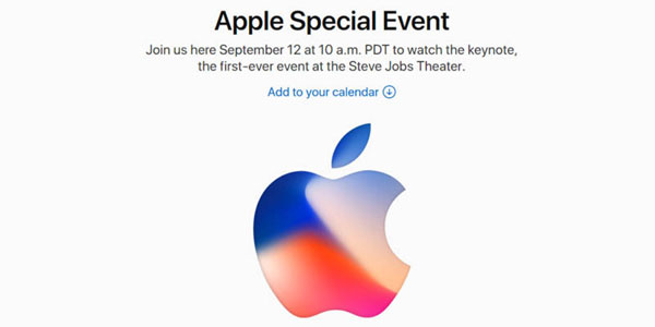 apple special event in september 2017