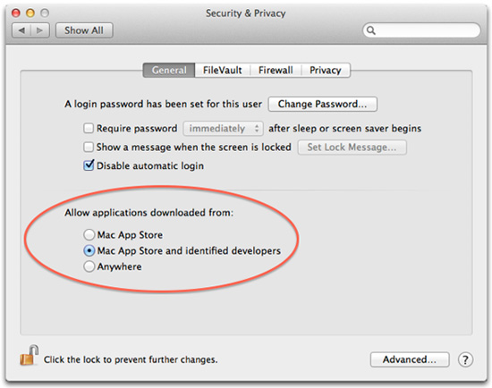 change mac privacy setting
