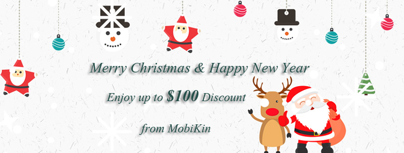 christmas promotion from mobikin