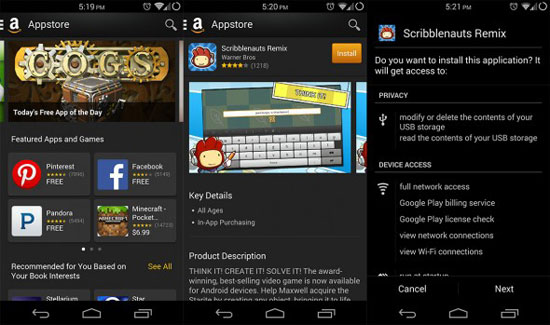 download samsung apps from amazon store