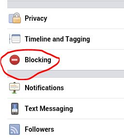 block android facebook messages