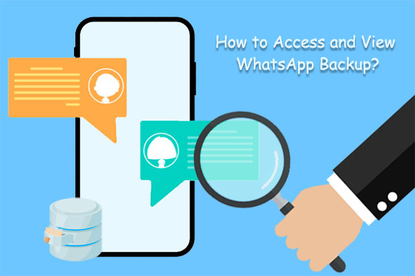how to access whatsapp backup