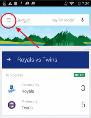 how to add cards to google now