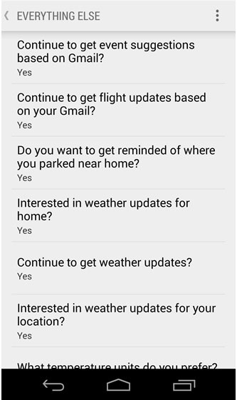how to add google now cards