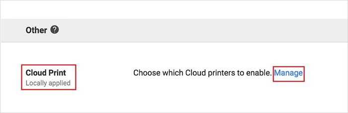 print android files with google cloud print