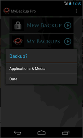 save android applications