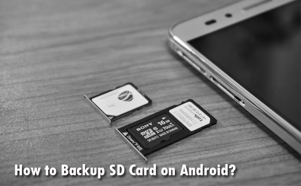 backup sd card on android