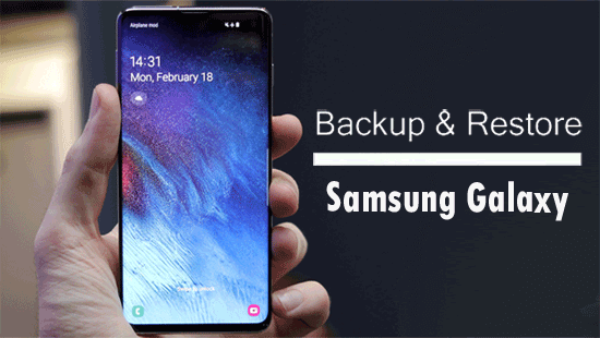 samsung backup and restore