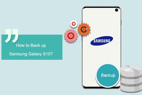 back up samsung galaxy s10