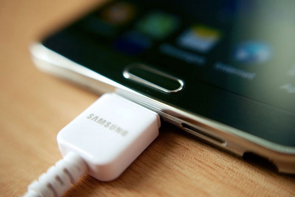 use usable charging cable to charge phone