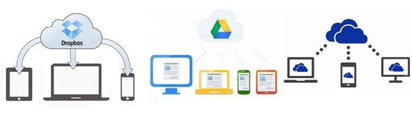 Comparison Among Dropbox, Google Drive and OneDrive