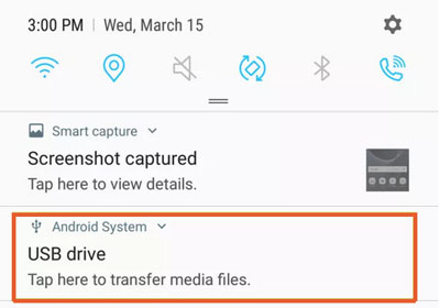 how to connect usb flash drive to android device