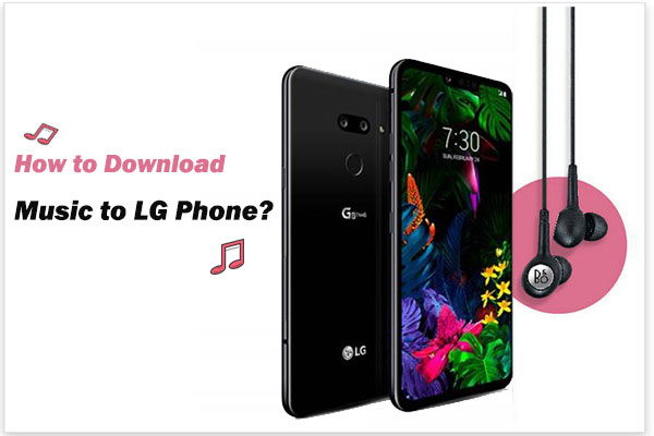 how to download music to lg phone