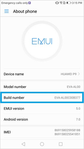 open usb debugging on huawei p 2