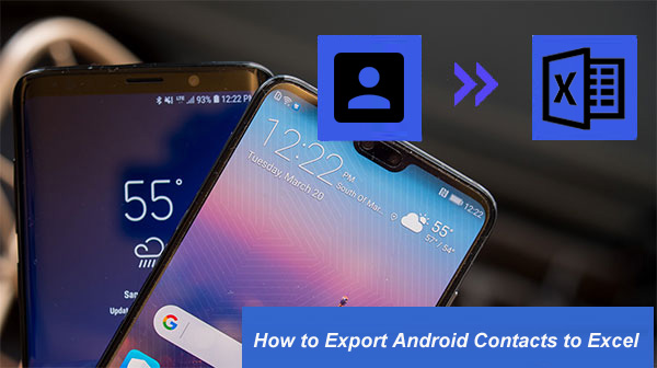 export android contacts to excel