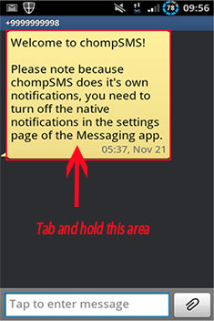 text message forwarding on android