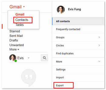 gmail contacts to vcf 01