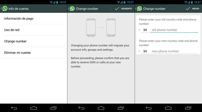 how to manage whatsapp account