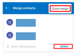 how to merge duplicate contacts in android from phone contacts