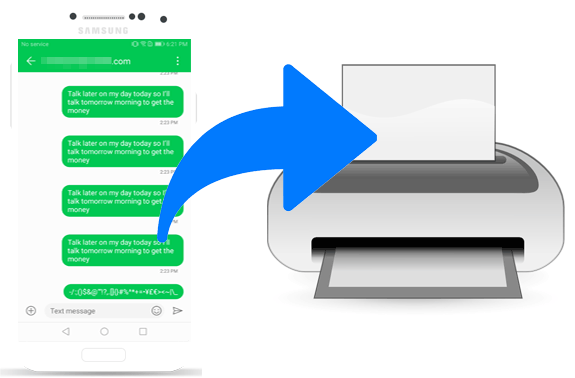 How to Print Out Text Messages from Android Phone? Best 4 Ways!