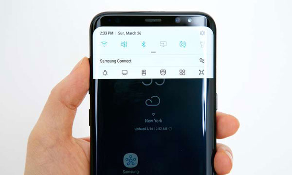 connect wifi on samsung s8 once again