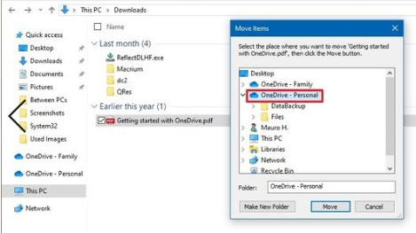 fix onedrive sync problems by relocating stuck stuff