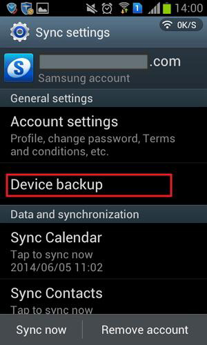 backup samsung to cloud