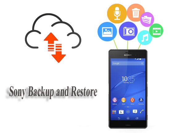 back up and restore sony xperia