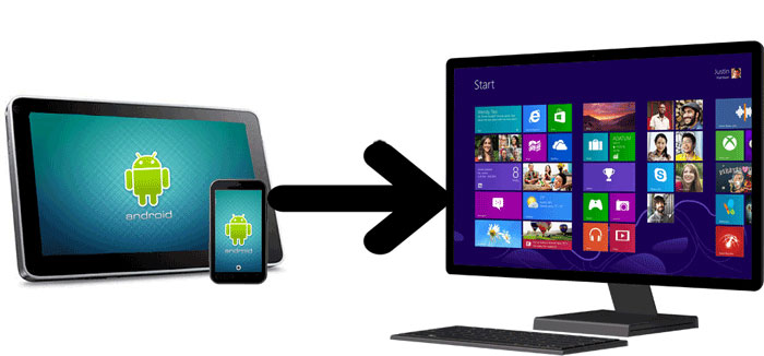 sync android to pc