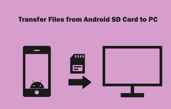 transfer files from android sd card to pc