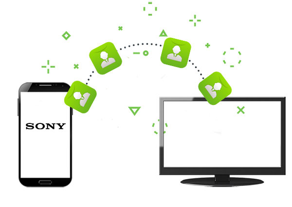 how to transfer contacts from sony xperia to pc
