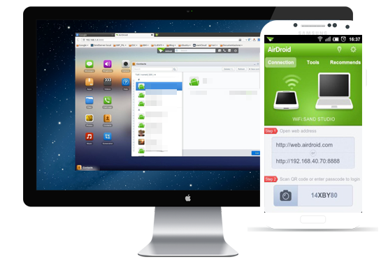 how to pass videos from pc to mobile with airdroid