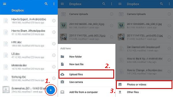 how to transfer photos from lg phone to computer with dropbox
