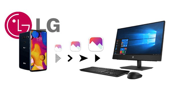 how to transfer photos from lg phone to computer