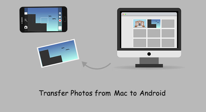 transfer photos from mac to android