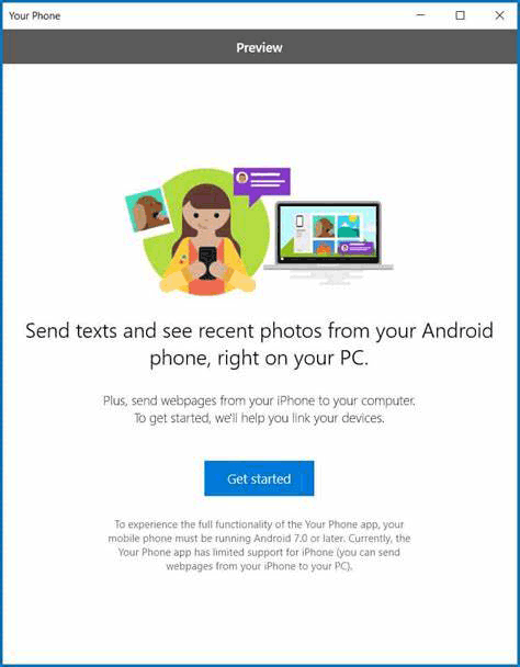 link your android phone to windows 10