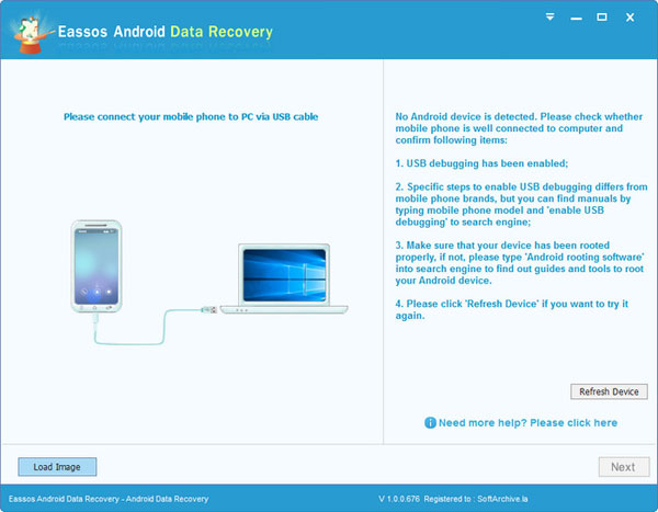 extract android data