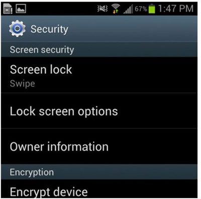 remove swipe screen to unlock android phone