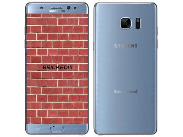 how to fix samsung gets bricked