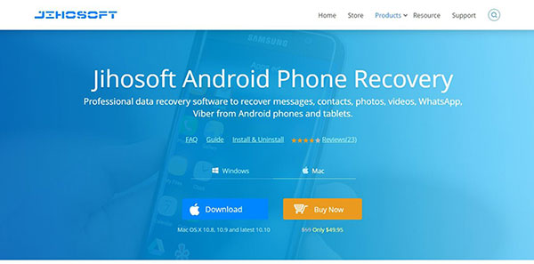 some jihosoft android phone recovery reviews