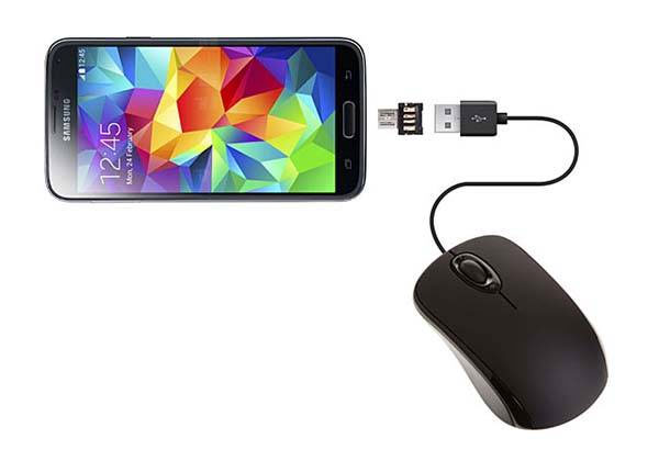get data from locked android phone with broken screen via otg adapter and mouse
