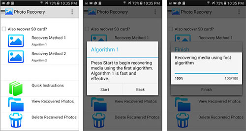 android photo recovery apps - photo recovery