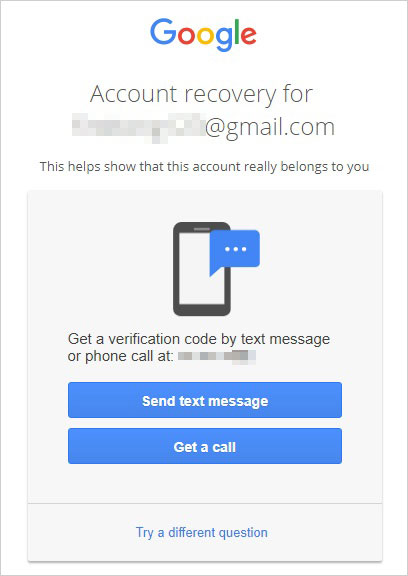 receive verification code