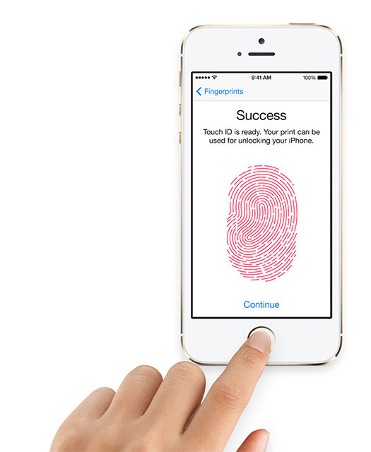 set touch id for iphone