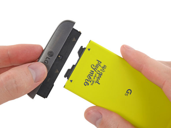 take out battery on lg g5