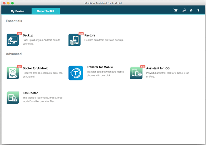 MobiKin Assistant for Android (Mac) - Excellent Android File