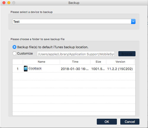 how to delete backups on mac