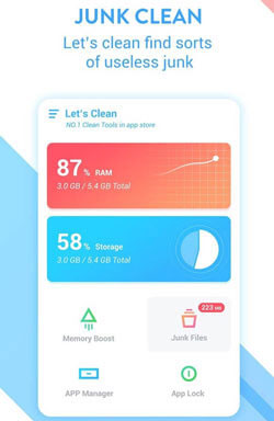 best app to clean phone - ace cleaner