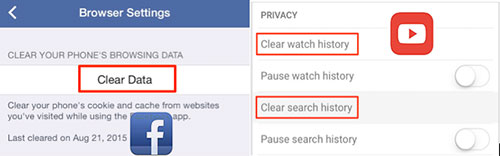 delete iphone documents and data by clean docment and data folder
