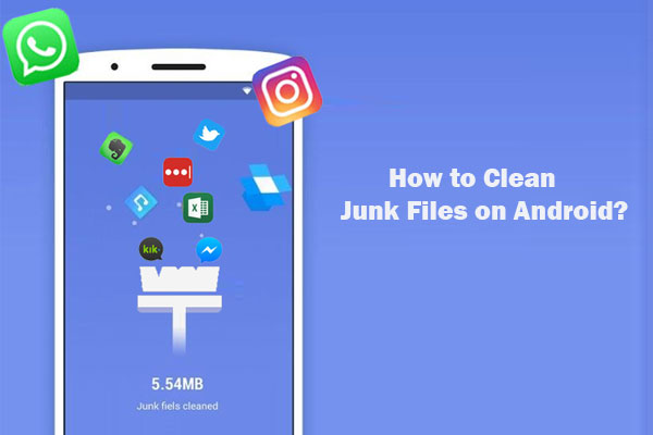 clean junk files on android